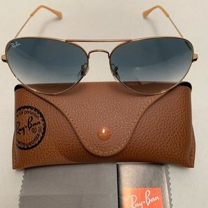 Ray-Ban Aviator Sunglasses RB3026 62-14mm 001/32